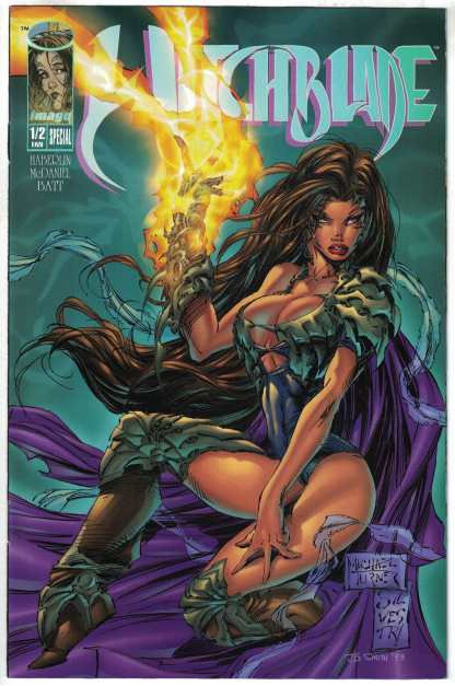 Witchblade 1/2 #1 Overstreet Fan Edition Top Cow 1995 NM