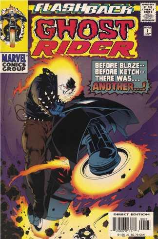 Ghost Rider Minus 1 Javier Saltares CVR Flashback Marvel 1997 Ivan Velez