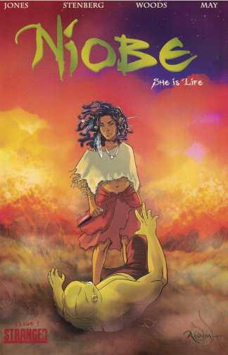 Niobe She is Life #1 Ashley Woods A CVR Stranger Comics 2015 Sebastian Jones