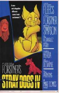 Stray Dogs #4 3rd Print Forstner & Fleecs Psycho Homage Variant Image 2021