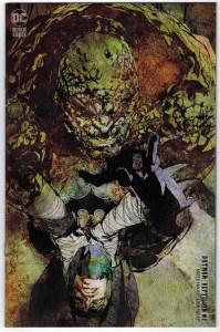 Batman Reptilian #1 1:25 Bill Sienkiewicz Variant DC 2021 Garth Ennis VF/NM