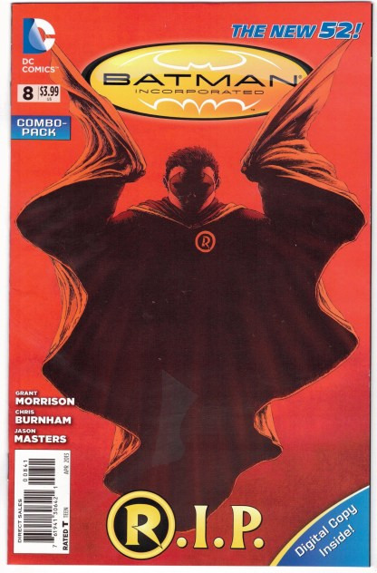 Batman Incorporated #8 Burnham Combo Pack Variant DC New 52 2012 VF/NM
