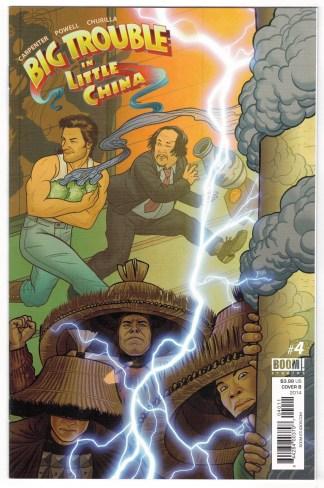 Big Trouble in Little China #4 1:10 Joe Quinones Variant Boom 2014 VF/NM