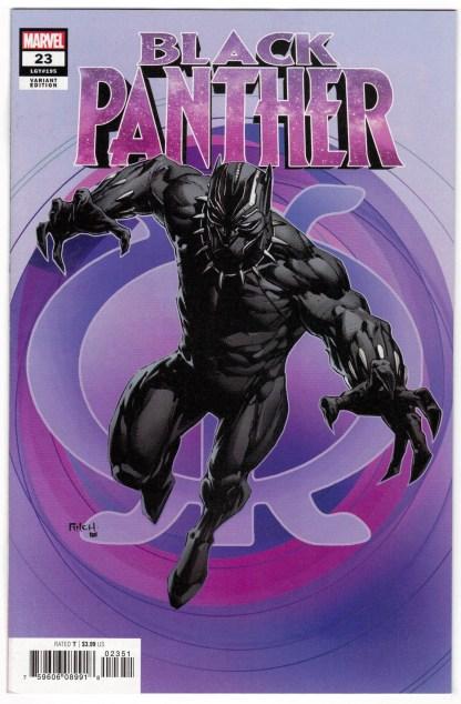 Black Panther #23 1:50 David Finch Variant Marvel 2018 VF/NM