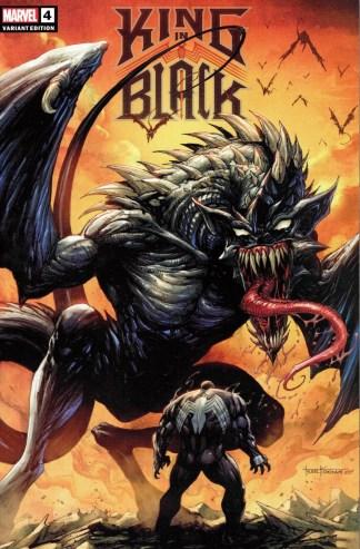 King in Black #4 Tyler Kirkham Unknown Comics Dragon Variant Marvel 2020