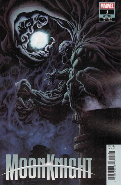 Moon Knight #1 1:25 Kyle Hotz Variant Marvel 2021