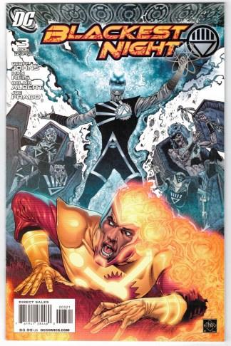 Blackest Night #3 1:25 Ethan Van Sciver Variant DC 2009 Green Lantern VF/NM