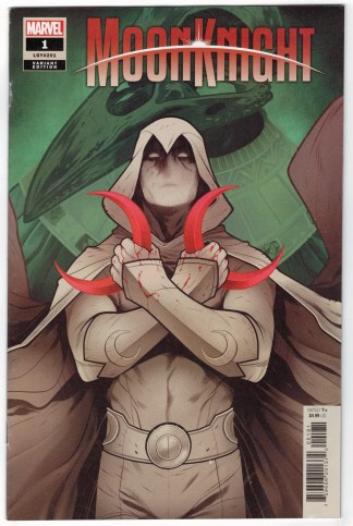 Moon Knight #1 1:50 Elizabeth Torque Variant Marvel 2021 VF/NM