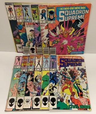 Squadron Supreme #1-12 Complete Set Marvel 1985 VF