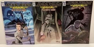 Star Wars Adventures Destroyer Down #1-3 Complete Set IDW 2018 VF/NM