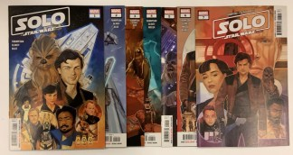 Solo A Star Wars Story Adaptation #1-7 Complete Set Marvel 2018 VF/NM