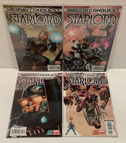 Annihilation Conquest Starlord #1-4 Complete Set Marvel 2014 VF/NM
