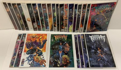 Tenth 1st Series #2-4 2nd Series #0-14 + Many SIGNED Tony S Daniel Image VF/NM
