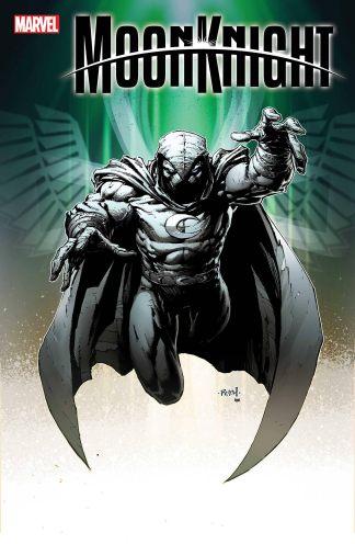 Moon Knight #2 1:25 Finch Variant Marvel 2021 Ships 8/18