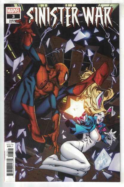 Sinister War #3 1:25 Gomez Variant Spencer Bagley Marvel 2021 VF/NM