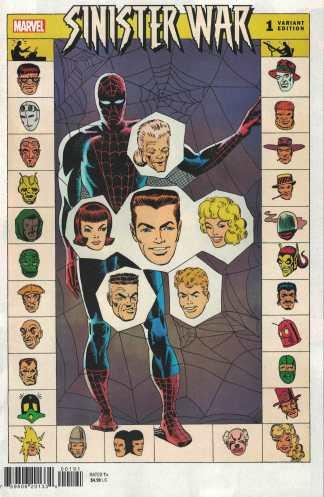 Sinister War #1 1:100 Ditko Hidden Gem Variant Marvel 2021