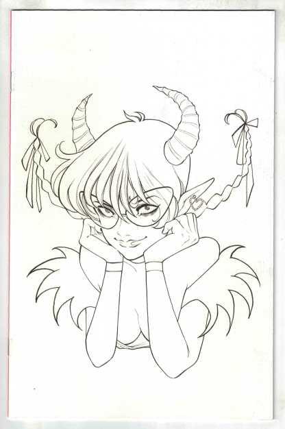 Sweet Paprika #1 1:50 Momoko B&W Virgin Sketch Variant Image 2021 VF/NM