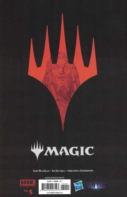 Magic the Gathering #5 1:10 Guara Planeswalker Variant Boom 2021 Jed MacKay