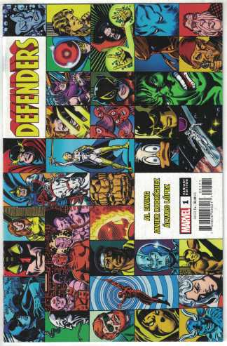 Defenders #1 1:25 George Perez Hidden Gem Variant Marvel 2021 VF/NM