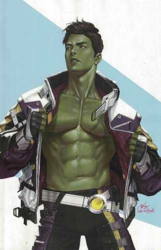 Immortal Hulk #49 1:50 Inhyuk Lee Virgin AAFI Heritage Variant Cho Marvel 2018