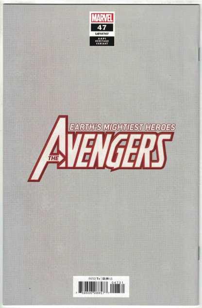 Avengers #47 1:50 Inhyuk Lee AAPI Heritage Virgin Variant Marvel 2018 VF/NM