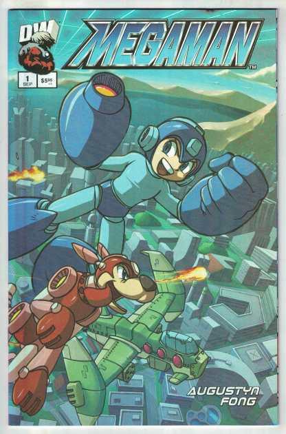 Megaman #1 Mic Fong Foil Variant Dreamwave 2003 VF/NM