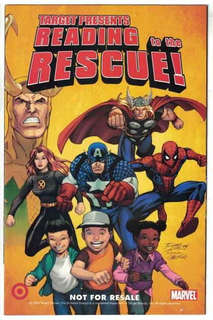 Target Presents Reading to the Rescue #1 Ron Lim CVR Promotional Marvel 2004 VF