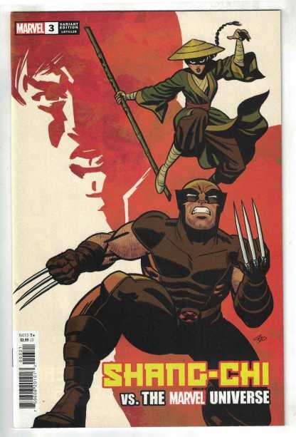Shang-Chi #3 1:50 Michael Cho Variant Marvel 2021 VF/NM