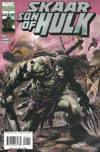 Skaar Son of Hulk #1 Pagulayan Variant 1st Full App & Origin Marvel 2008