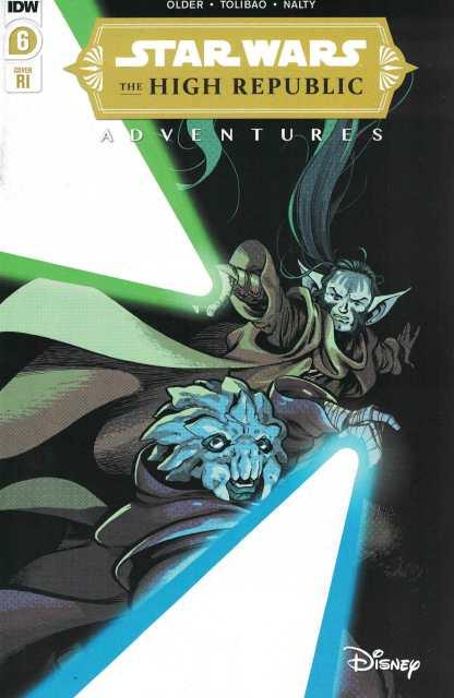 Star Wars High Republic Adventures #6 1:10 Kyriazis Variant Marvel 2021