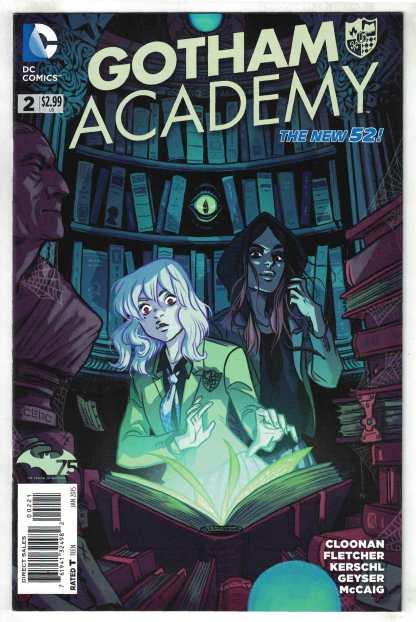 Gotham Academy #2 1:25 Cloonan Variant DC 2014 VF/NM