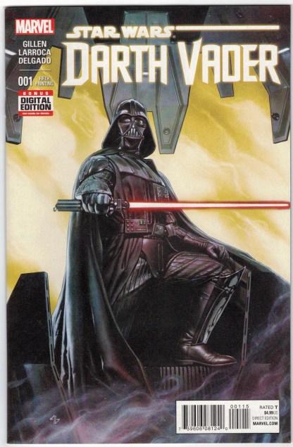Darth Vader #1 Fifth Print Adi Granov Variant Marvel 2015 1st Krrsantan VF/NM