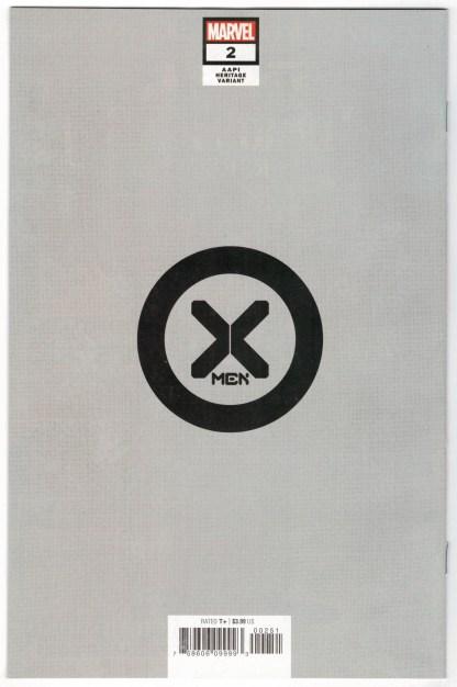 X-Men #2 1:50 Inhyuk Lee Virgin AAPI Heritage Variant Armor Marvel 2021 VF/NM