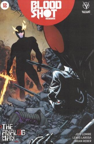 Bloodshot Reborn #12 Phil Jiminez Variant Cover B Valiant 2015
