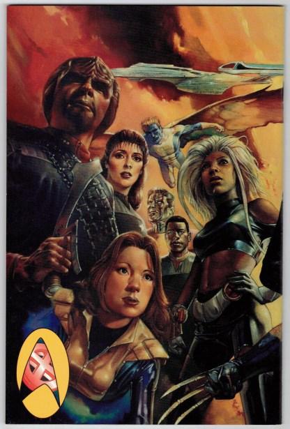 Star Trek Next Generation X-Men Second Contact #1 Evans Variant Marvel 1998 VF/NM