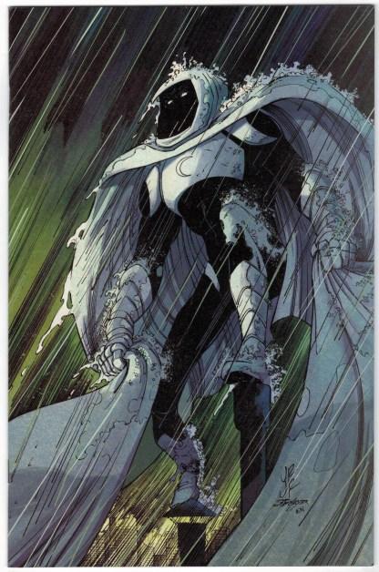 Moon Knight #1 1:200 John Romita Jr Variant Marvel 2021 VF/NM