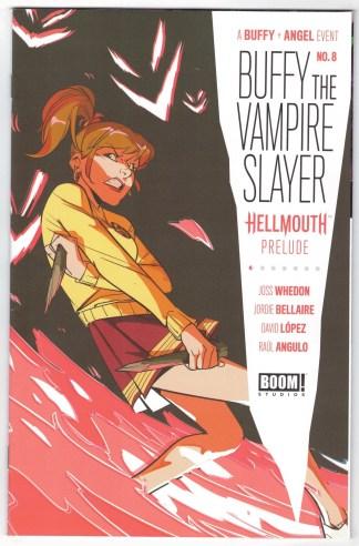 Buffy the Vampire Slayer #8 1:25 Di Nicuolo Variant Boom 2019 Hellmouth VF/NM
