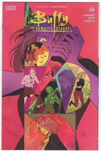 Buffy the Vampire Slayer #28 1:25 Sam Beck Variant Boom 2019 VF/NM