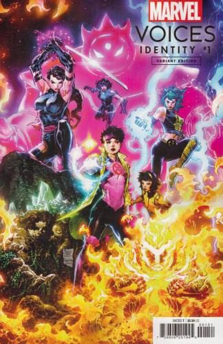 Marvels Voices Identity #1 1:25 Philip Tan Variant Marvel 2021