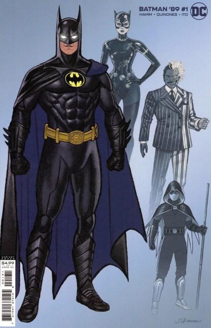 Batman '89 #1 1:25 Joe Quinones Design Variant DC 2021