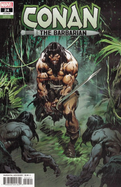 Conan the Barbarian #24 1:25 Roberto de la Torre Variant Marvel 2019