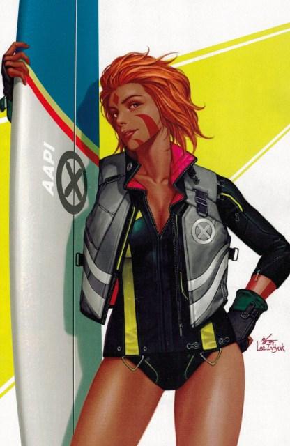 Way of X #5 1:50 InHyuk Lee AAPI Heritage Virgin Variant Marvel 2021