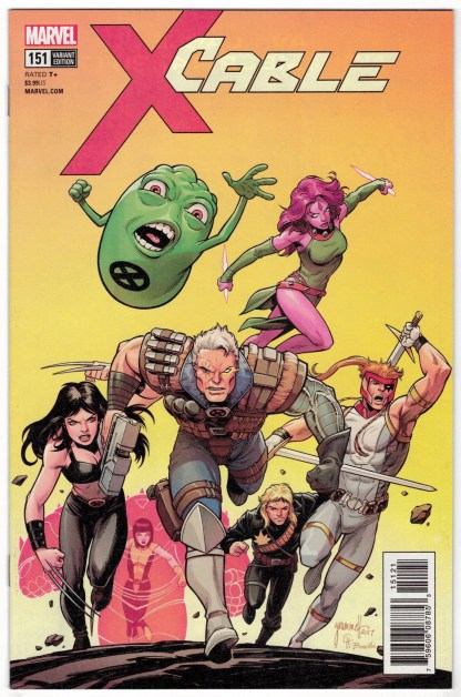 Cable #151 1:25 Tom Grummett Variant Marvel Legacy 2017 VF/NM