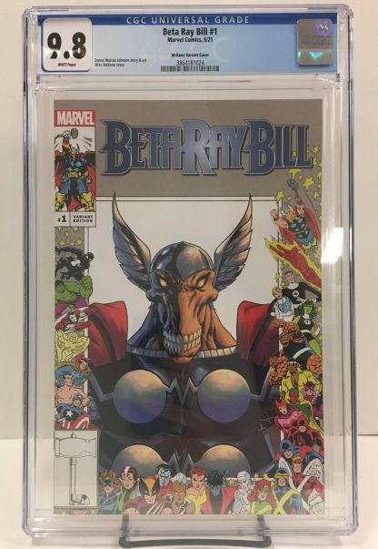 Beta Ray Bill #1 Ultimate Exclusive Mike McKone Marvel Frame Variant CGC 9.8 NM+