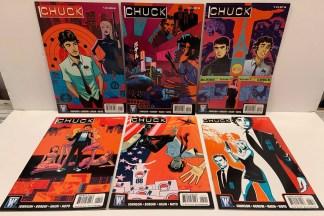 Chuck #1-6 Complete Set DC Wildstorm 2008 TV Show VF/NM