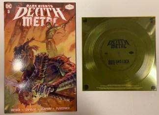 Dark Nights Death Metal #3 Loma Vista Denzel Curry Flexi Disc Variant DC 2021