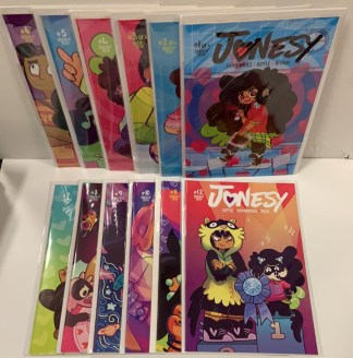 Jonesy #1-12 Complete Set Boom Box 2016 Sam Humphries VF/NM