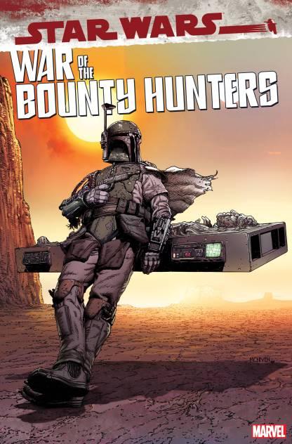 Star Wars War of the Bounty Hunters #5 1:50 Steve McNiven Boba Fett Variant 2021