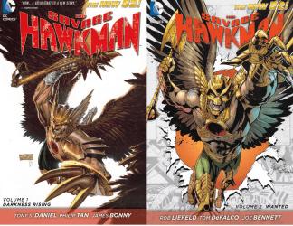 Savage Hawkman vol 1-2 TPB DC New 52 2011 Daniel Tan Liefeld DeFalco