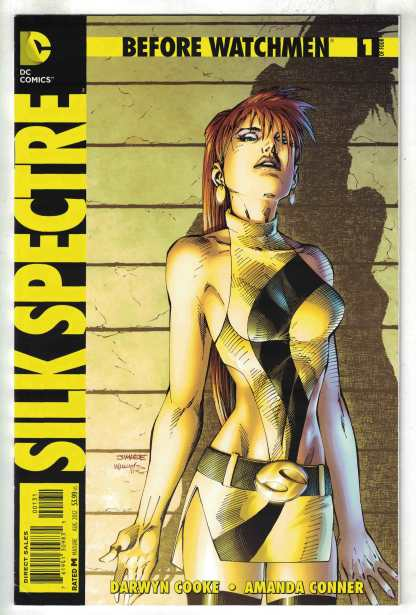 Before Watchmen Silk Spectre #1 1:200 Jim Lee Variant DC Comics 2012 VF/NM